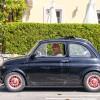 Giovanni in seinem Abarth Fiat