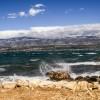 Bora, ist ein vorwiegend sehr böhiger und unberechenbarer Nord - Ost -Wind entlang der Grenzen kroatischen Küste